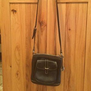 Dooney and Bourke leather crossbody handbag